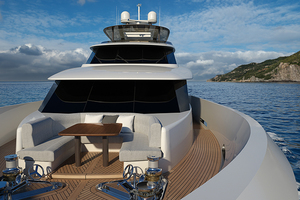 110' Crescent 110 Fast Pilothouse Yacht 2020 FOREDECK