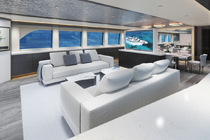 117' Crescent Custom Fast Pilothouse Yacht 2019 SALON