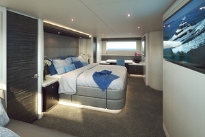 117' Crescent Custom Fast Pilothouse Yacht 2020 MASTERSTATEROOM