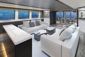 117' Crescent Custom Fast Pilothouse Yacht 2020 SALON