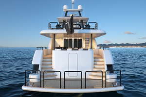 117' Crescent Custom Fast Pilothouse Yacht 2019 STERN