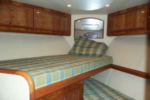 47' Jersey Cape Hardtop Express SF 2013 Forward Cabin