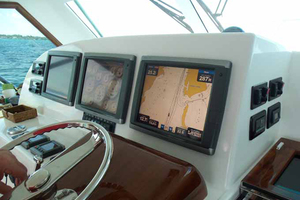 47' Jersey Cape Hardtop Express SF 2013 Navigational Electronics