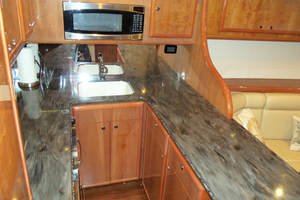 47' Jersey Cape Hardtop Express Sf 2013 Galley