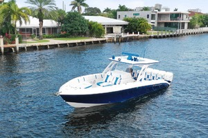 photo of Midnight-Express-37-Open-2018-No-Idea-Fort-Lauderdale-Florida-United-States-Port-Bow-1091838