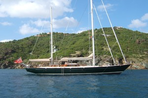 92' Vitters Performance Cruiser 1999 At Anchor Profile
