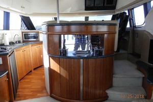 45' Carver 450 Voyager Pilothouse 1999 Sink and Cabinet