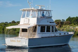 Sabre-Flybridge-Convertible-2003-Robins-Nest-Palm-City-Florida-United-States-Starboard-Stern-1093526