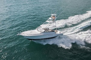 is a Cabo 41 Express Yacht For Sale in Cape May-Port Running View-2