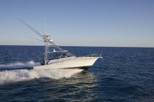 is a Cabo 41 Express Yacht For Sale in Cape May-Starboard Running View-5