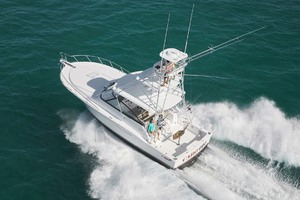 is a Cabo 41 Express Yacht For Sale in Cape May-Aerial View-6
