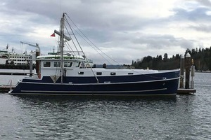 42' Webbers Cove 1966/2004 Custom Trawler 1966 Profile