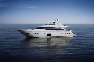 88' Princess 88 Motor Yacht 2018 Port Side