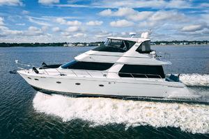 53' Carver 530 Voyager Skylounge 2002 Port Profile