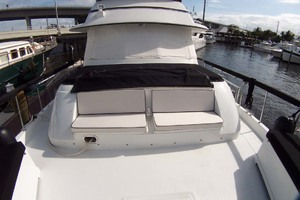 61' Hatteras 61 Motoryacht 1980 Forecabin Seating Area