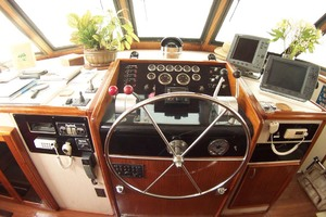 61' Hatteras 61 Motoryacht 1980 Lower Helm