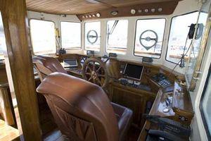 85' Custom Motor Yacht 1962 Wheelhouse