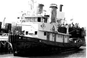 85' Custom Motor Yacht 1962 Catriel in Original Shape