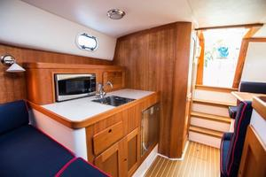 36' Hunt Yachts Harrier 2015 Galley