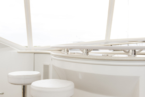 69' Marquis 65 Skylounge 2008 Stools at the flybridge