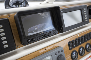 69' Marquis 65 Skylounge 2008 Voyager screen at the helm