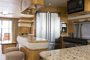 69' Marquis 65 Skylounge 2008 Galley view 2