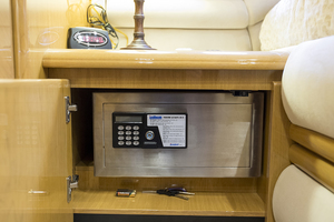 69' Marquis 65 Skylounge 2008 Safe in the master stateroom