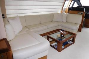 63' Ferretti Yachts 630 2009 Salon - Port Side