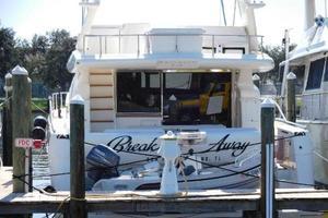 63' Ferretti Yachts 630 2008 Stern Area