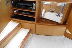 63' Ferretti Yachts 630 2009 Entertainment Center and Drink Cooler