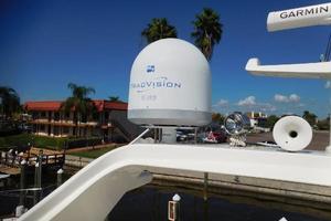 65' Ferretti Yachts 630 2009 Radar Arch - TracVision
