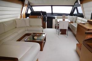63' Ferretti Yachts 630 2009 Salon - Looking Forward