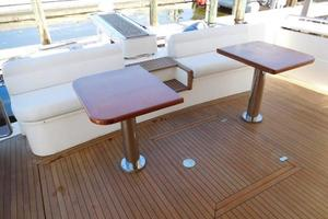 63' Ferretti Yachts 630 2008 Aft Deck