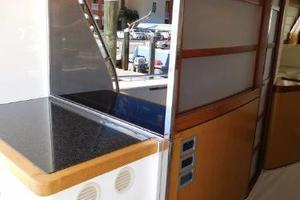 63' Ferretti Yachts 630 2009 Galley/Aft Deck - Window Closed