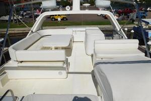 63' Ferretti Yachts 630 2009 Flybridge - Looking Aft