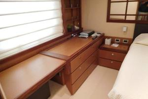 65' Ferretti Yachts 630 2009 Master Stateroom - Desk/Vanity