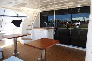 63' Ferretti Yachts 630 2009 Aft Deck - Looking Forward