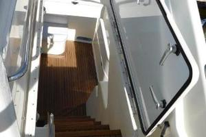 63' Ferretti Yachts 630 2009 Access Hatch to Aft Deck Stairs
