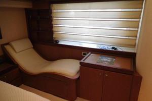 65' Ferretti Yachts 630 2009 Master Stateroom - Sofa with Heat/Vibrator