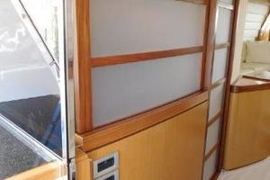 63' Ferretti Yachts 630 2009 Galley/Aft Deck - Door Closed