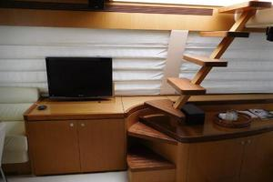 63' Ferretti Yachts 630 2009 Staircase to Flybridge from Salon