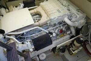 63' Ferretti Yachts 630 2009 Engine Room