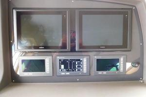 65' Ferretti Yachts 630 2009 Wheelhouse Electronics
