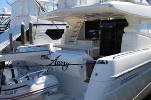 63' Ferretti Yachts 630 2009 Aft Deck and Swim Platform