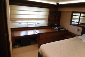 63' Ferretti Yachts 630 2009 Master Stateroom - Desk/Vanity and Stool