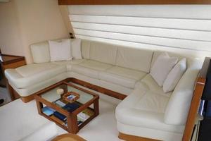 63' Ferretti Yachts 630 2009 Salon - U-Shaped Sofa