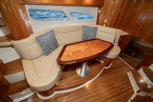 41' Intrepid 410 Evolution 2017 Dinette to Stbd Converts to Berth
