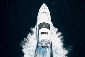 41' Intrepid 410 Evolution 2017 Overhead