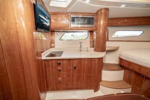 41' Intrepid 410 Evolution 2017 Galley to Port
