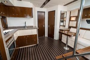 48' Cruisers Yachts 48 Cantius 2012 Lower Salon Forward
